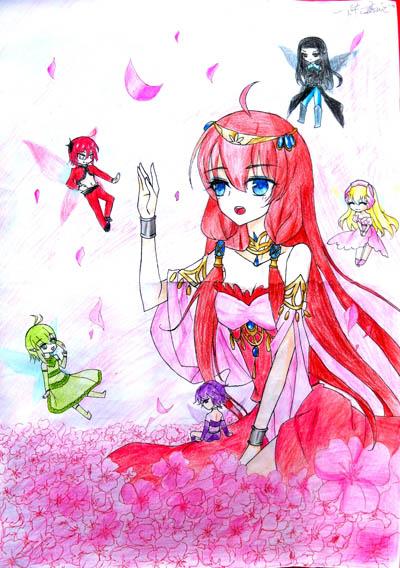 小公主-水彩画图集
