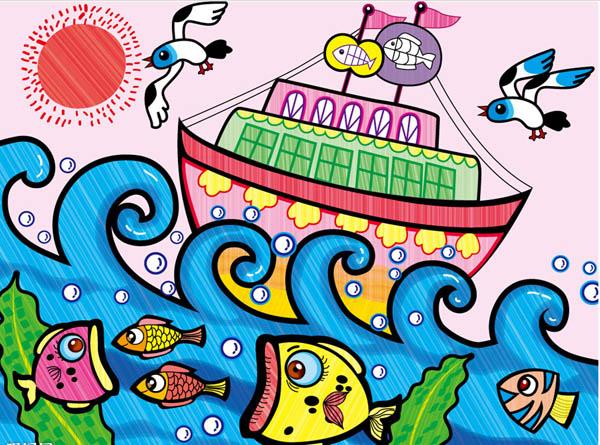船-水彩画图集