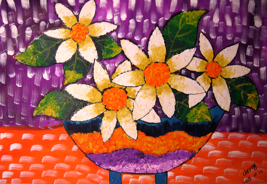 花-水彩画图集