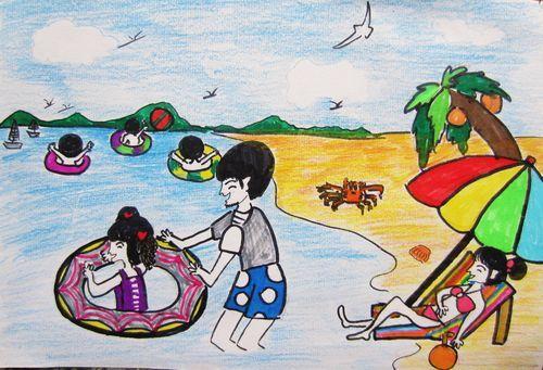一家人-蜡笔画图集3