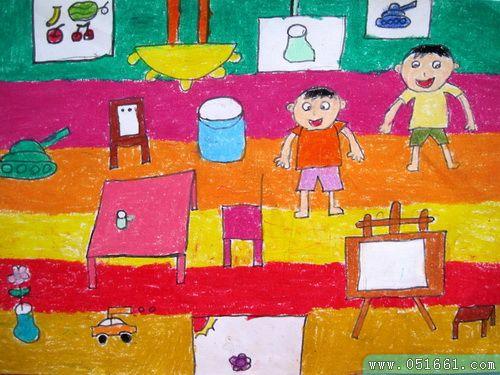 一家人-蜡笔画图集10