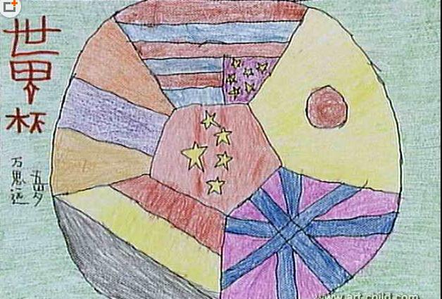 中国梦-蜡笔画图集