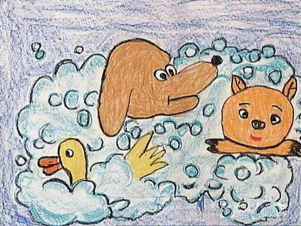 动物-蜡笔画图集3
