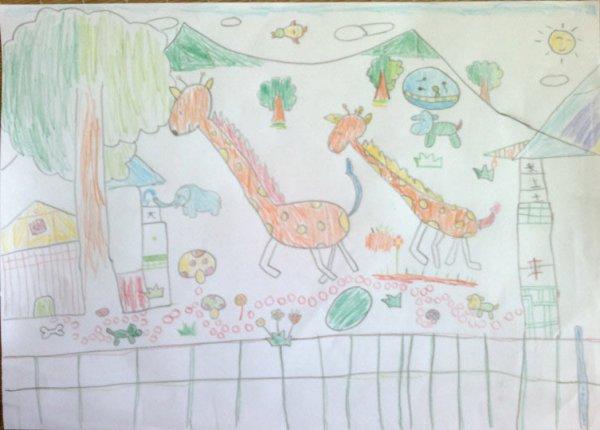动物-蜡笔画图集4