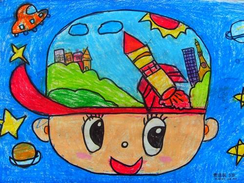 地球-蜡笔画图集4