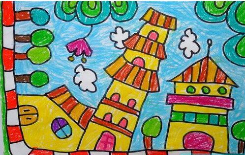 家园-蜡笔画图集2
