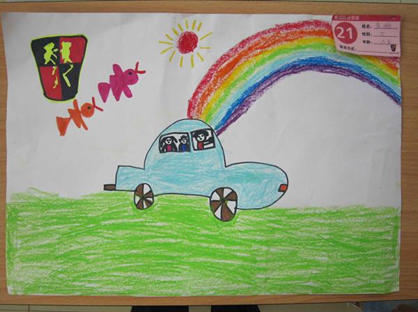 彩虹-蜡笔画图集6