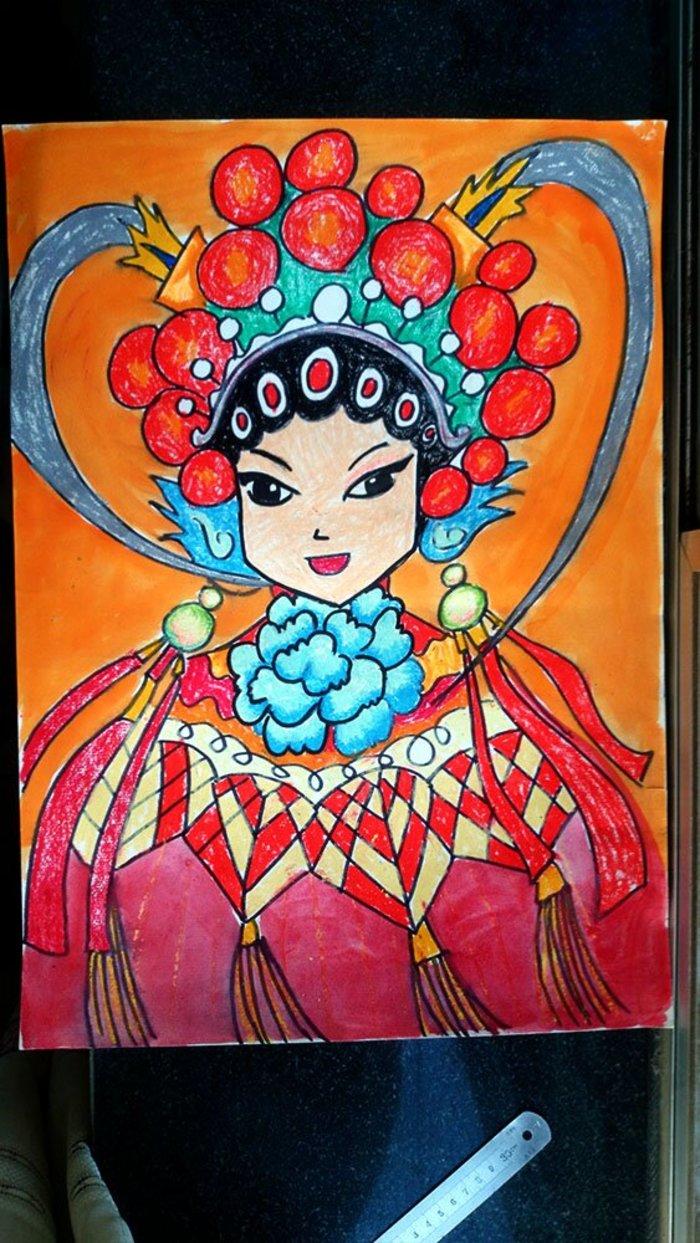 中国优秀儿童动画片_戏剧-蜡笔画图集图片_儿童蜡笔画_少儿图库_中国儿童资源网