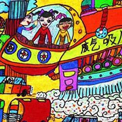 新年-蜡笔画图集13
