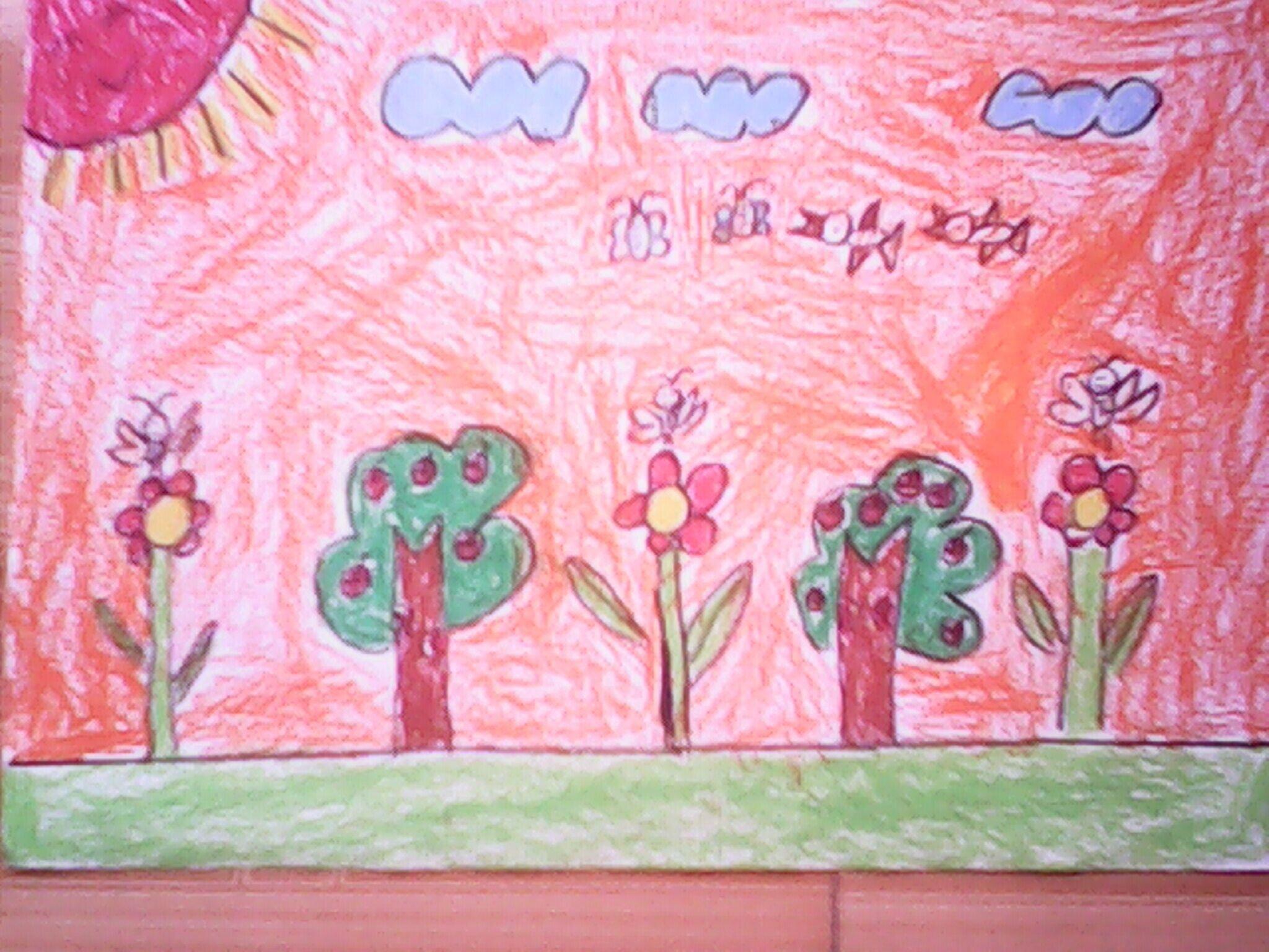 水果-蜡笔画图集19