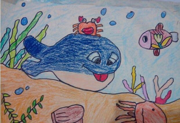 海底世界-蜡笔画图集18