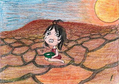 环保-蜡笔画图集2