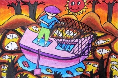 环保-蜡笔画图集3