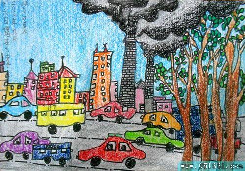 环保-蜡笔画图集4