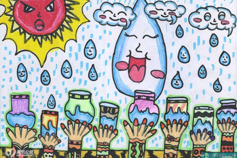 环保-蜡笔画图集11