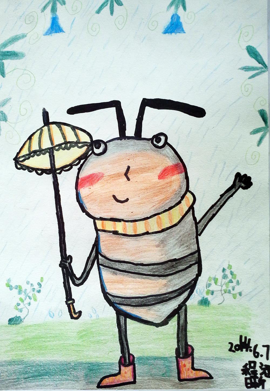 蚂蚁-蜡笔画图集6