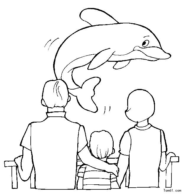 公园涂色图片 简笔画图片 少儿图库 中国儿童资源网