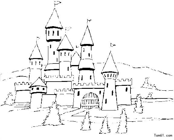 - Dessiner un chateau de princesse ...