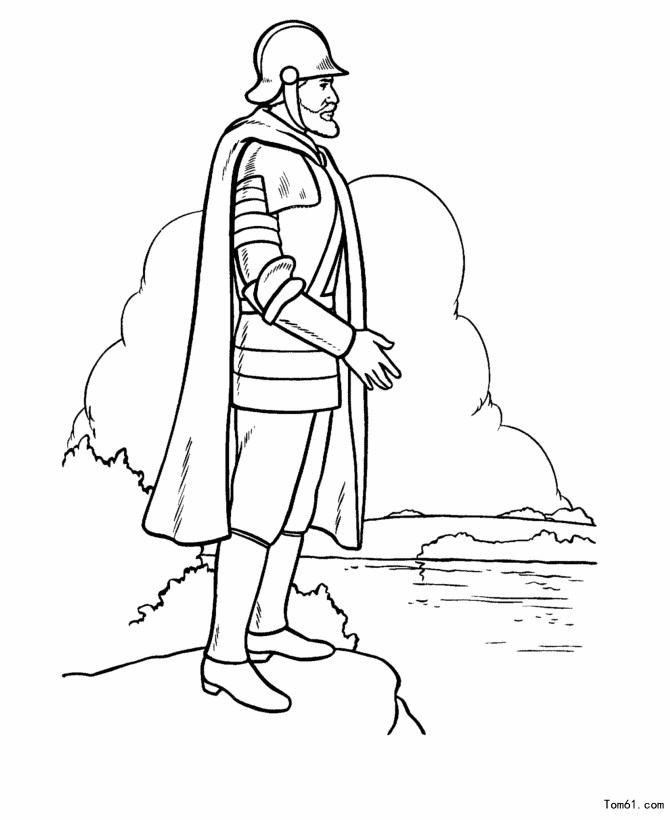 early settlers coloring pages - photo#26