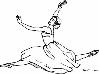 舞公主歌曲_芭蕾舞图片_简笔画图片_少儿图库_中国儿童资源网