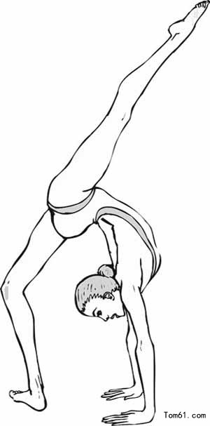 Modern Dance Coloring Pages