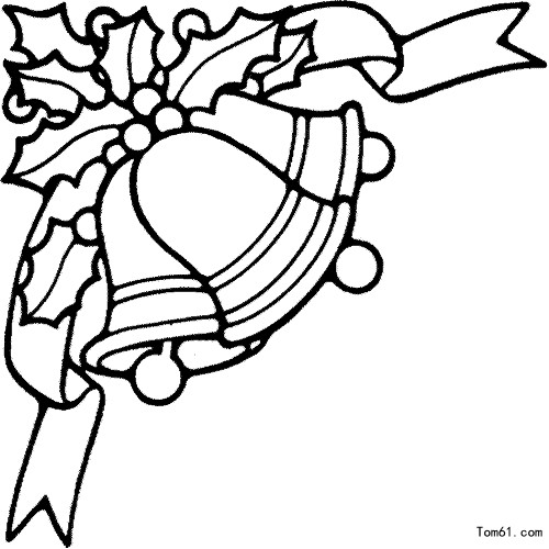 christmas holly border coloring pages - photo#28