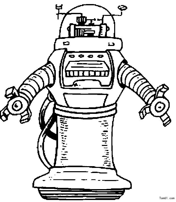 科幻机器人3