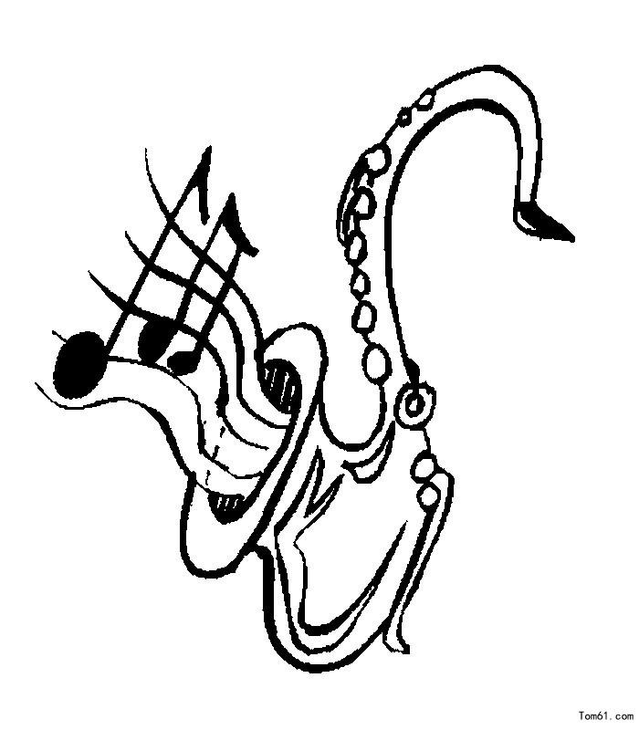 乐器1-简笔画图片-儿童资源网手机版