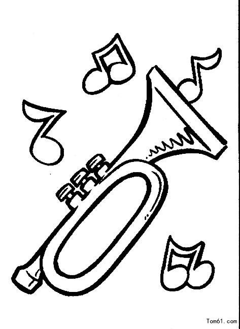 乐器1图片_简笔画图片_少儿图库_中国儿童资源网