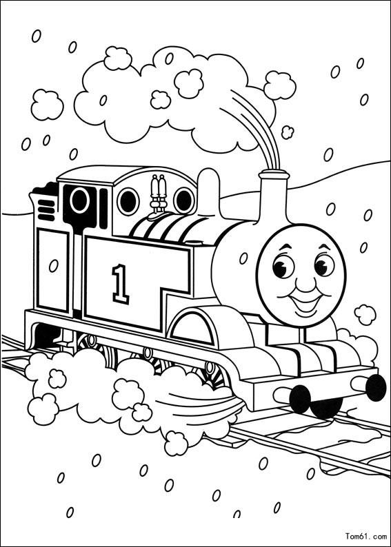 托马斯小火车简笔画 托马斯小火车 托马斯小火车小游戏 百分百图片大全 百分百图片大全