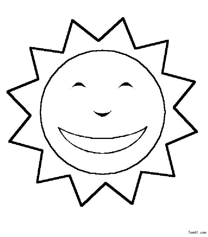 太阳简笔画,幼儿简笔画太阳,幼儿简笔画图片太阳,幼儿简笔画 太阳公公