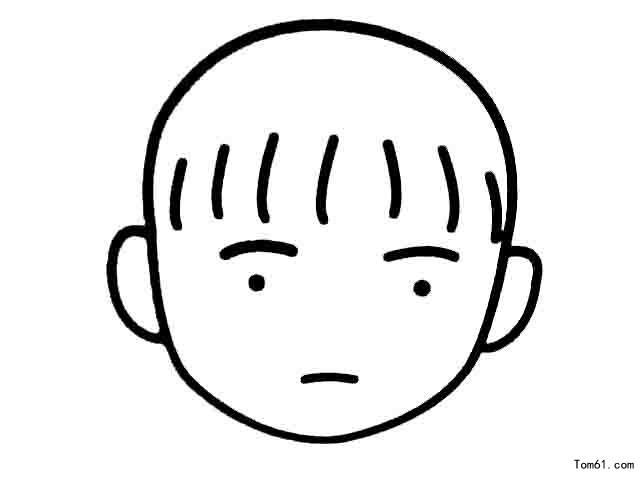 各种表情图片_简笔画图片_少儿图库_中国儿童资源网