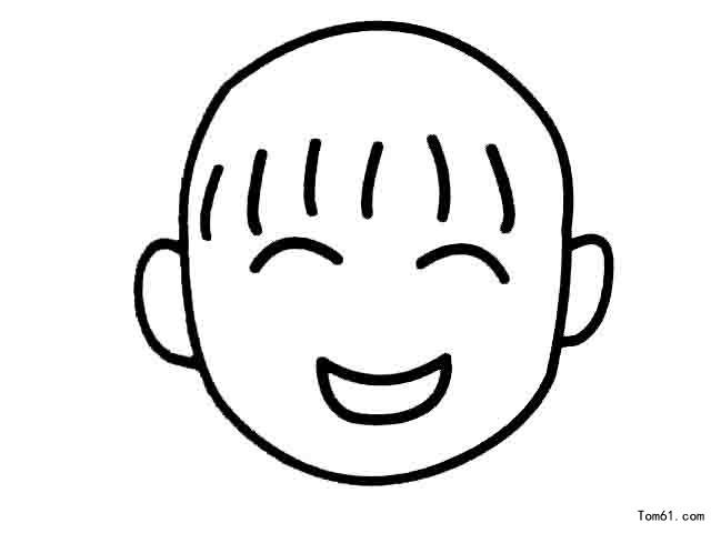 各种表情-简笔画图片-中国儿童资源网
