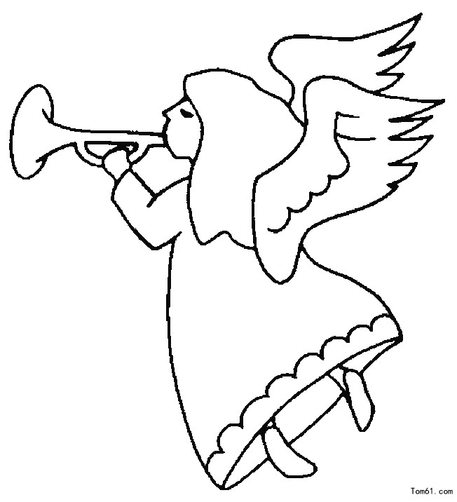 天使1图片_简笔画图片