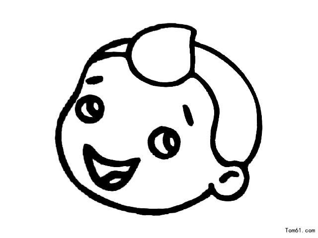 不开心的表情简笔画怎么画