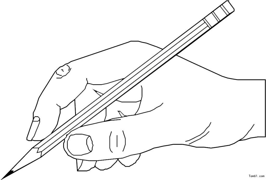 手姿-简笔画图片-中国儿童资源网