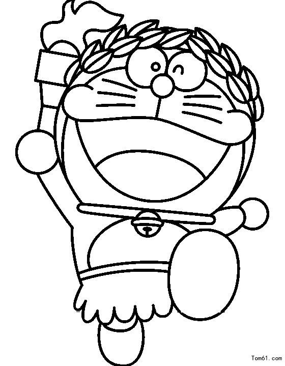 机器猫图片_简笔画图片_少儿图库_中国儿童资源网
