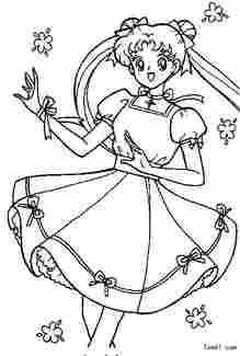 美少女战士1图片 简笔画图片