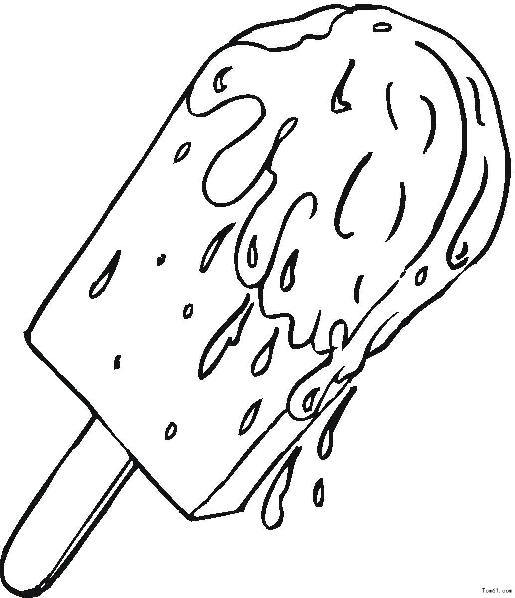 Learn Colors for Kids with this Ice Cream Popsicle Coloring Page 9