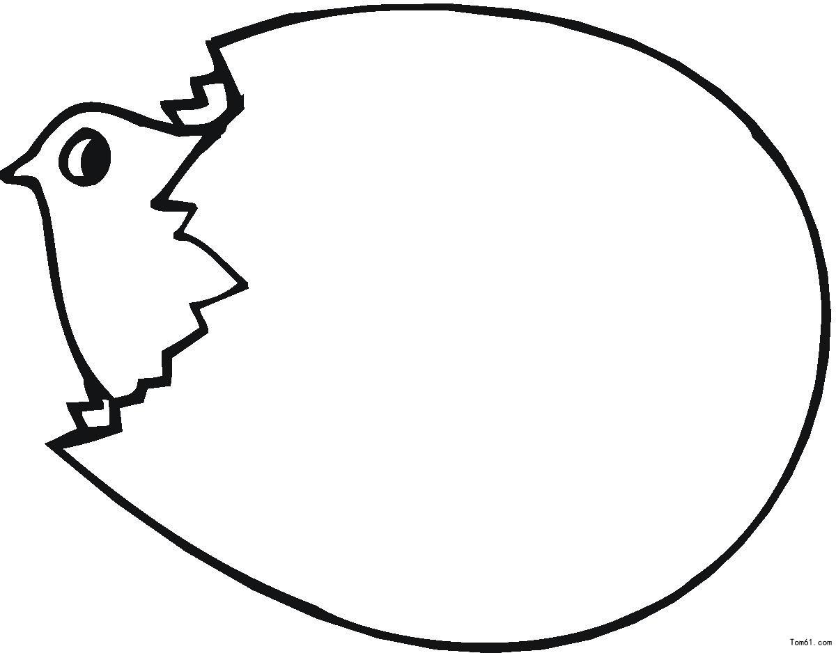 鸡蛋图片_简笔画图片_少儿图库
