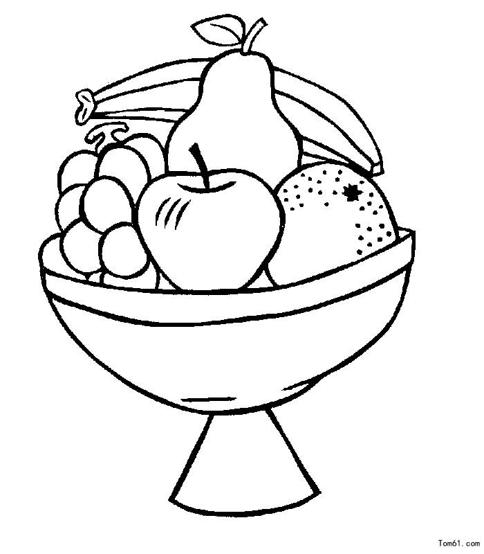 水果图片_简笔画图片_少儿图库_中国儿童资源网