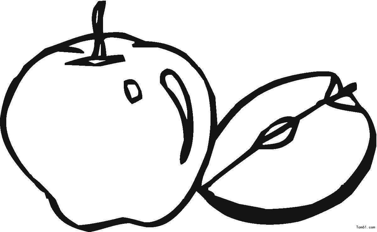幼儿园简笔画水果