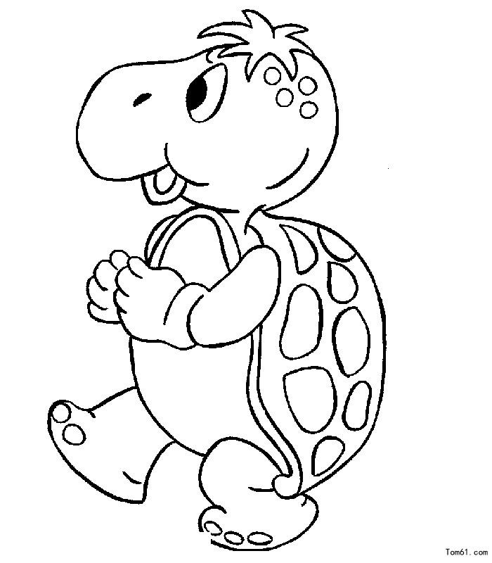 乌龟图片_简笔画图片_少儿图库_中国儿童资源网