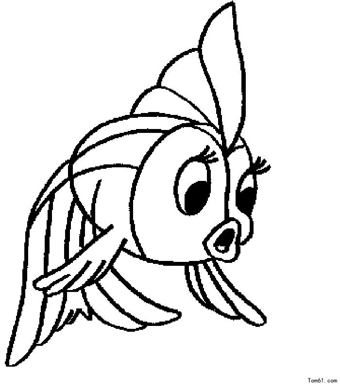 简笔画鱼是如何画的