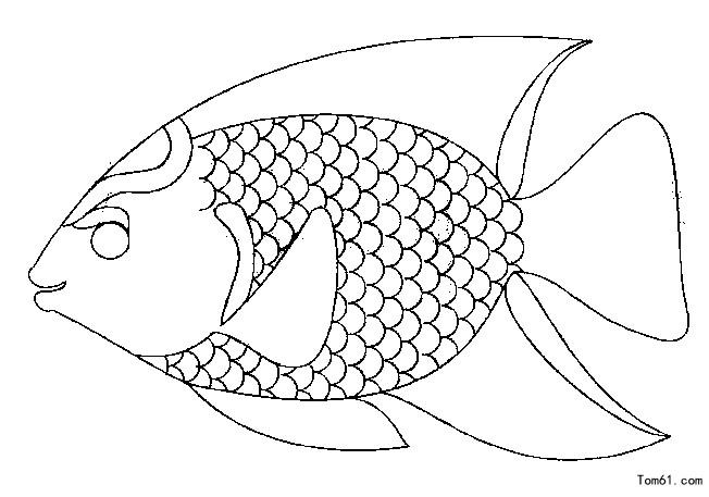 3 - Dessin de poisson a imprimer gratuit ...