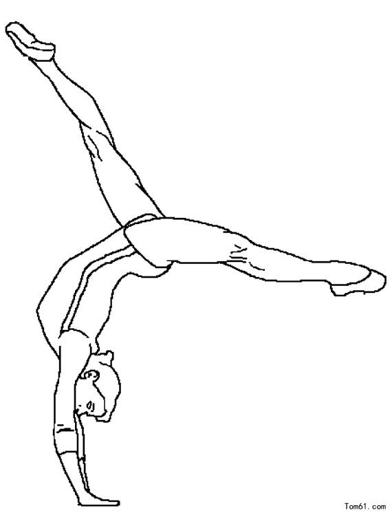 - Dessin gymnaste ...