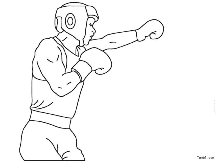 - Gant de boxe dessin ...