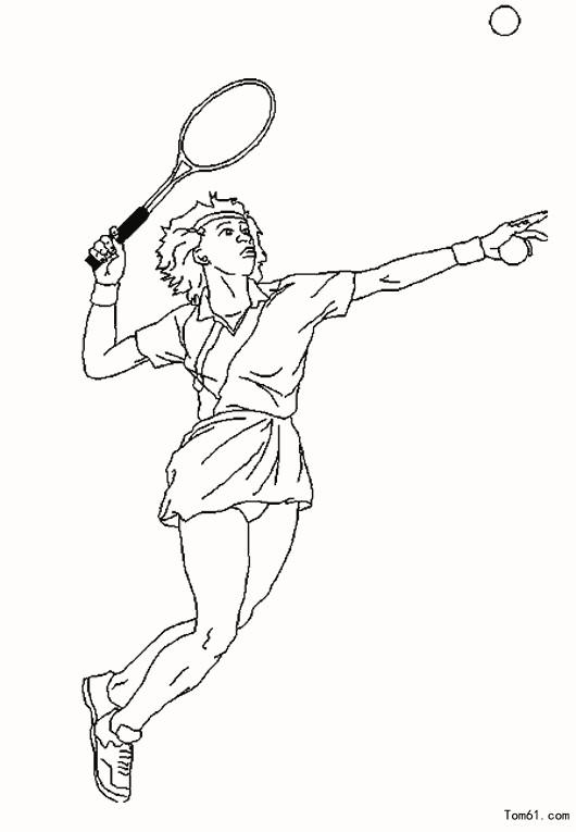 网球简笔画_如何画网球拍简笔画图解