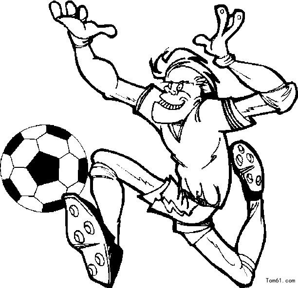 足球海报设计手绘
