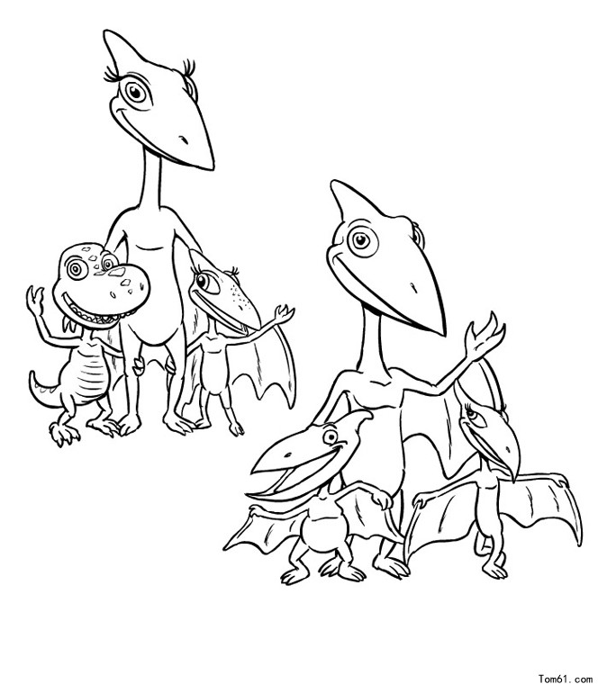 buddy dinosaur train coloring pages - photo#14